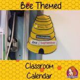 Back to School 'Bee' Themed Classroom Calendar