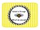 Bee Themed Classroom Clipchart