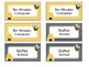 Bee Themed Classroom Management Positive Reward Tickets Editable