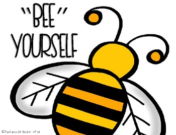 Bee Themed Classroom Posters with Quotes
