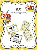 Bee Themed Dewey Signs Pack