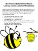 Bee Themed Dolch Primer Sight Words Literacy Center Activities/Worksheets