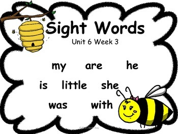 Bee Themed Focus Wall for Wonders Reading Kindergarten