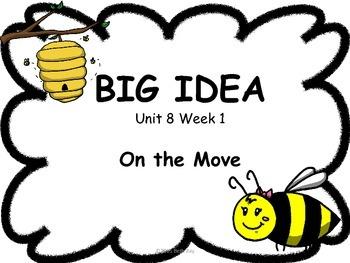 Bee Themed Focus Wall for Wonders Reading Kindergarten