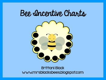 Bee Themed Incentive Charts