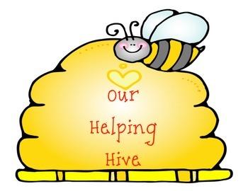 Bee Themed Job Chart