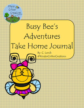 Bee Themed Journal - Take Home Friend