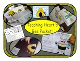 #sbdollardeal Bee Themed Learning Games, Math, Reading, an