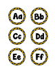 Bee Themed Classroom Letters and Numbers Decor