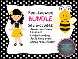 Bee Themed Music BUNDLE