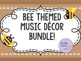 Bee Themed Music Decor Bundle