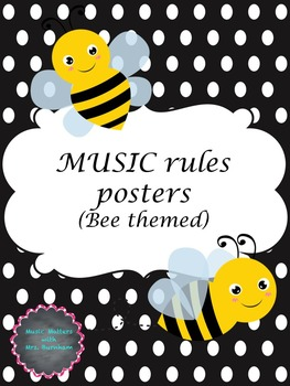 Bee Themed Music Rules