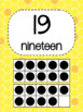 Bee Themed Number Posters 0-20