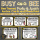 Bee Themed Parts of Speech Anchor Charts