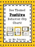 Bee Themed Positive Behavior Clip Chart!