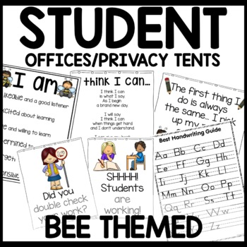 Bee Themed Privacy Tents