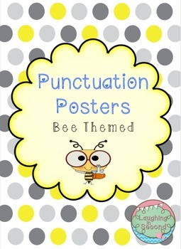Bee Themed - Punctuation Posters