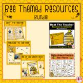 Bee Themed Resource Bundle