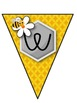 Bee Themed Welcome Banner