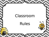 Bee Themed Whole Brain Teaching Rules