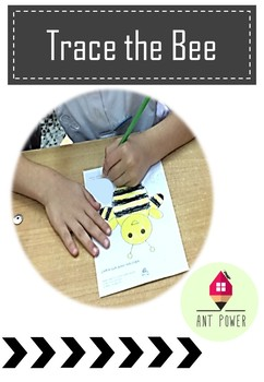 Bee Tracing Activity ~ Freebie