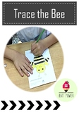 Bee Tracing Activity ~ Freebie