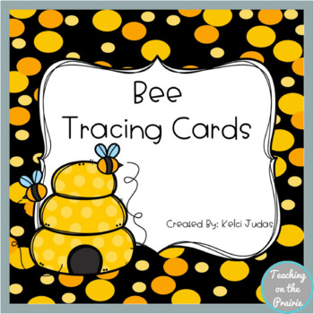 Bee Tracing Task Cards