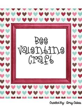 Bee Valentine Craft