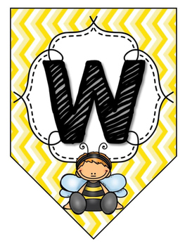 Bee Welcome Banner