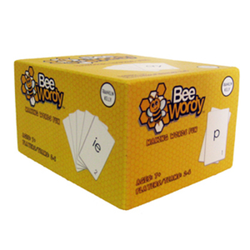 Bee Wordy Card Game (Phonics, Spelling, Vocabulary)
