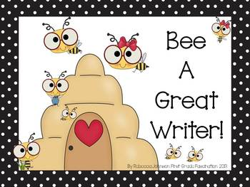 Bee Writing Process posters