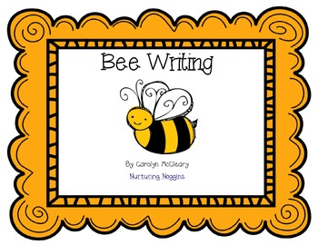 Bee Writing Unit (papers, graphic organizers, craftivity, easy reader, etc.)
