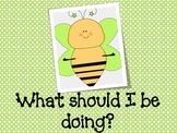 Bee Your Best -  Spring Behavior Posters