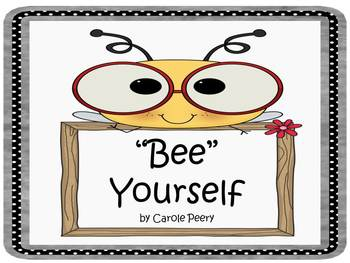 Bee Yourself Bees-Small