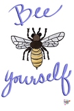 Bee Yourself Printable
