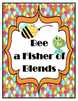 Bee a Fisher of Blends: Beginning Blends Match Up Game
