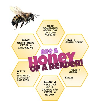 Bee a Honey of a Reader Reading Challenge