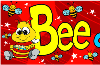 Classroom Decoration Bee a Reader Banner sign