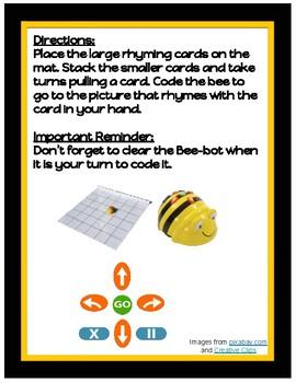 Bee-bot Rhyming