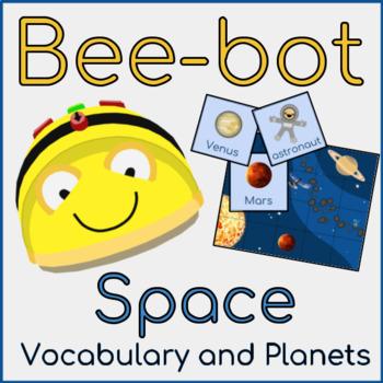 Bee-bot Space Mat - Vocabulary and Mat