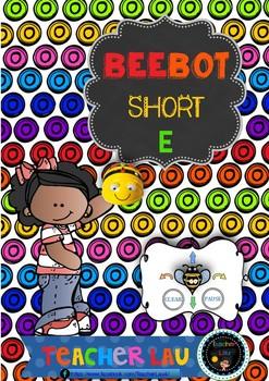 Bee-bot short E flashcards