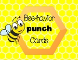 Bee-havior Punch Cards