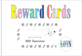 Bee-haviour Management Reward cards