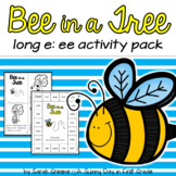 Vowel Teams Long e: ee Printables, Centers & Games