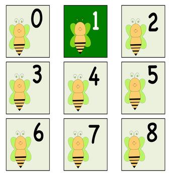 Bee numbers 0-110