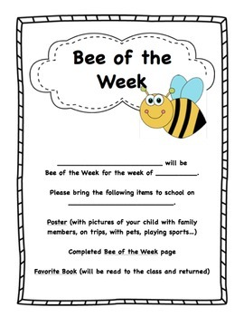 Bee of the Week