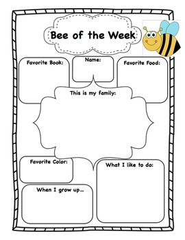 Bee of the Week