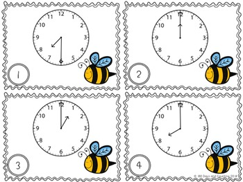 Bee on Time (hour & half hour)