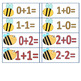Bee themed Addition/Subtraction facts