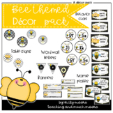 Bee themed decor pack